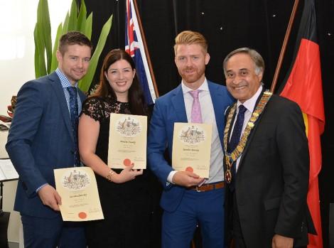 Citizenship ceremony on Australia Day at Randwick NSW (Source: Randwick Council)
