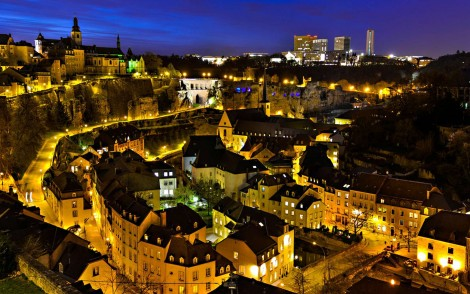 "Luxembourg ""light"" life (typo intended). Photo: travelertips"
