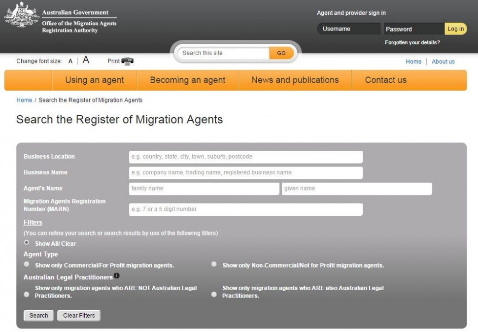 Have a go locating your nearest migration agents.  Have a go locating your nearest migration agents.